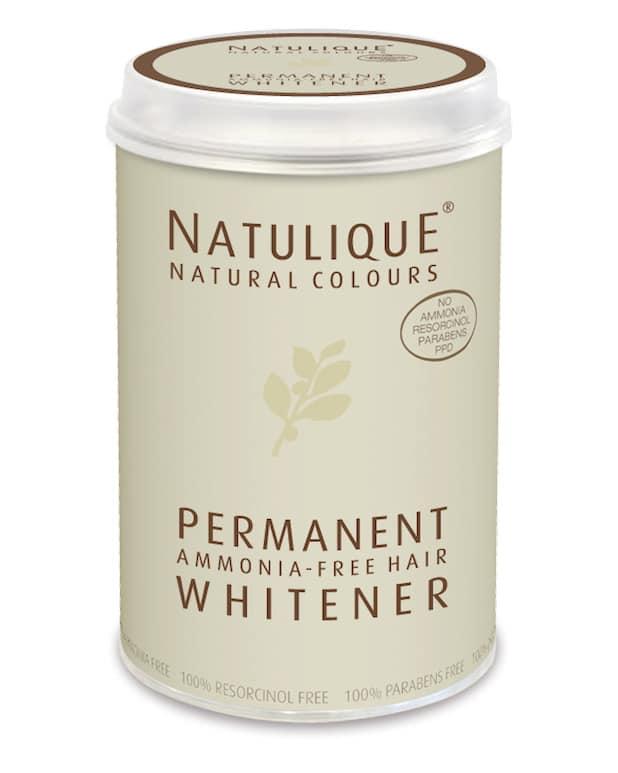 natulique whitener éclaircissant permanent