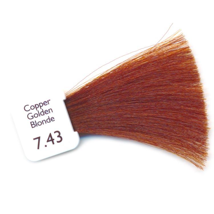 Coloration natulique blond cuivr dor cr me naturelle biologique - Blond cuivre dore ...