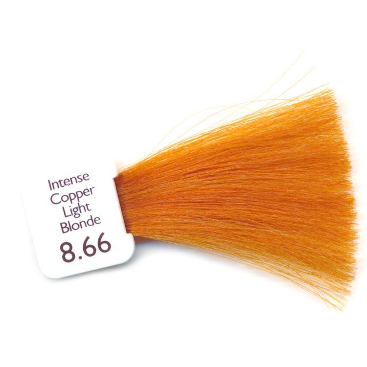 Natulique 8.66 intense copper light blonde