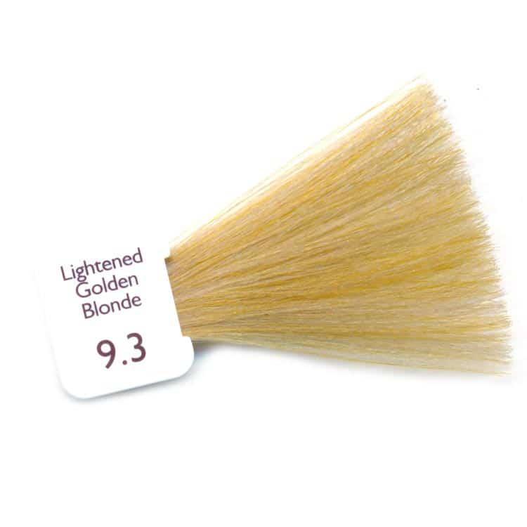 Natulique 9.3 lightened golden blonde