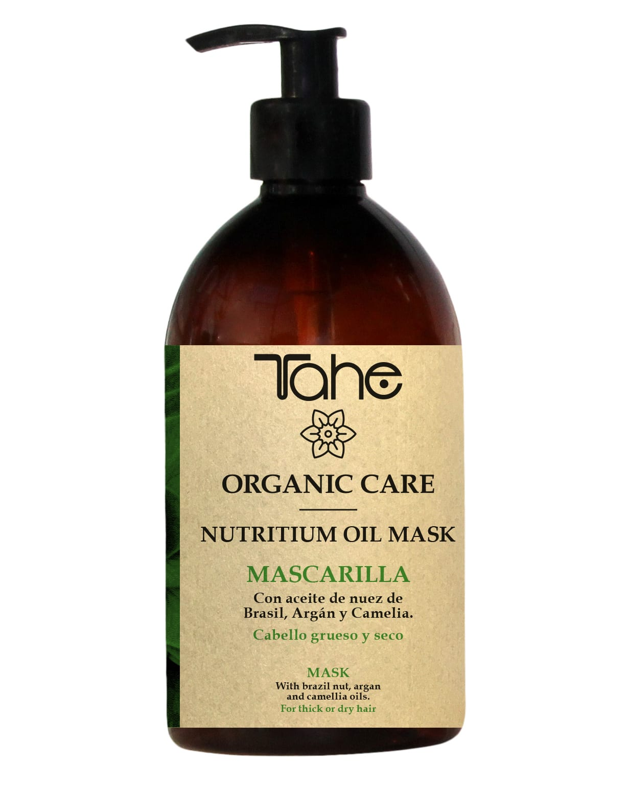 Tahe Organic Care Masque Nutritium Oil Cheveux épais et secs 500ml
