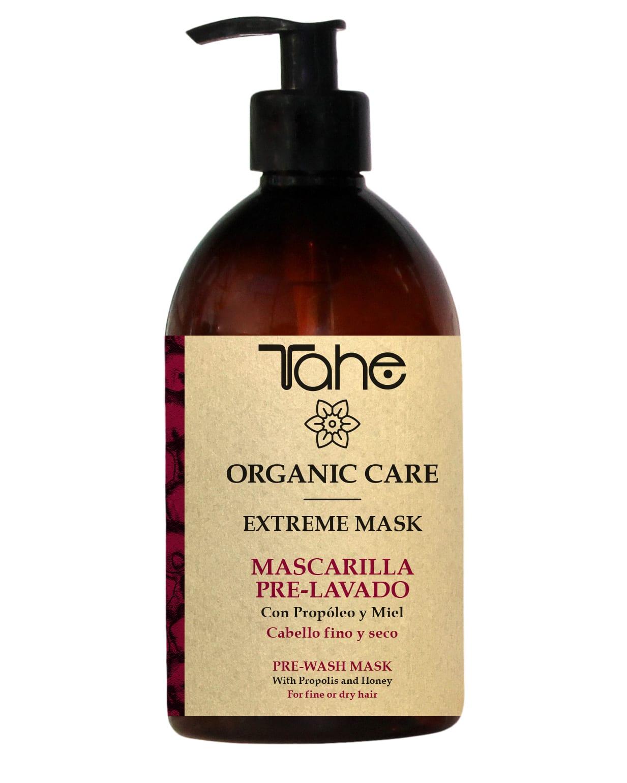 Tahe Organic Care Masque de prélavage extrème Cheveux fins et secs 500ml