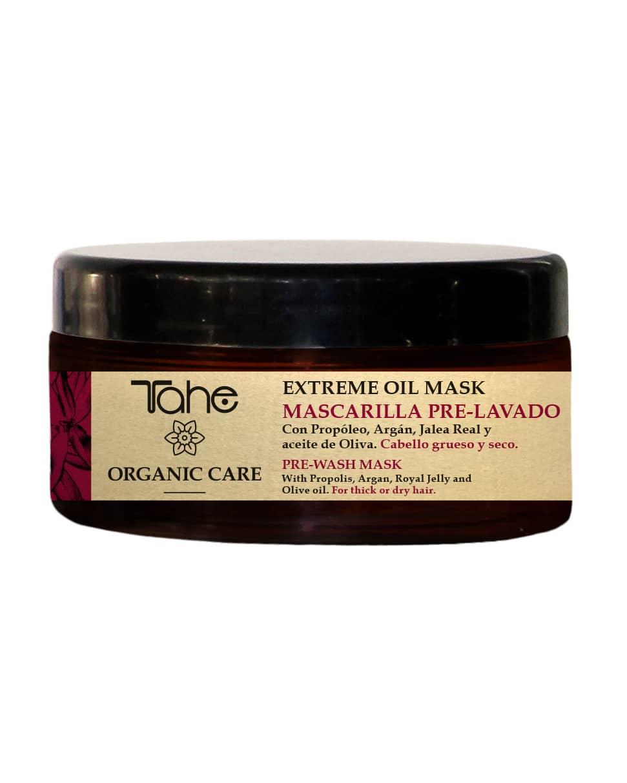 Tahe Organic Care Masque de prélavage extrème oil Cheveux épais et secs 300ml