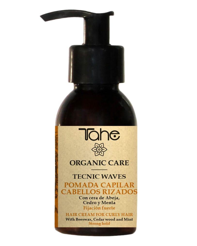 Tahe Organic Care Pommade capillaire tecnic waves - cheveux frisés bouclés