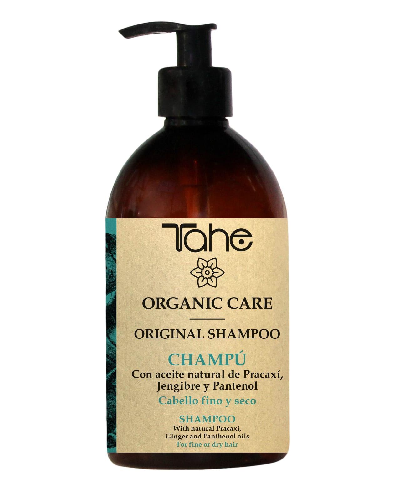 Tahé Organic Care Shampooing Original cheveux fins et secs - naturels 805f307211bf