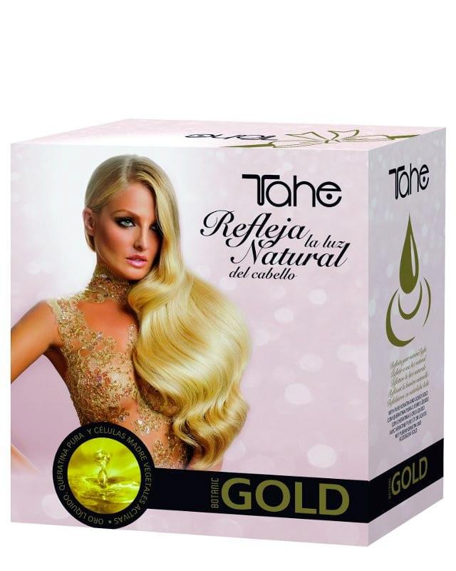 tahe keratin gold pack shampooing masque sérum